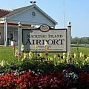Mackinac Island Airport Art Print