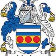 Maclea Coat Of Arms Irish Art Print
