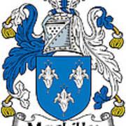 Maclilly Coat Of Arms Irish Art Print