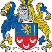Maclochlin Coat Of Arms Irish Art Print