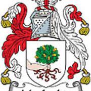 Macloskie Coat Of Arms Irish Art Print