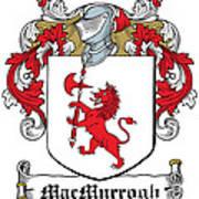 Macmurrogh Coat Of Arms Carlow Ireland Art Print