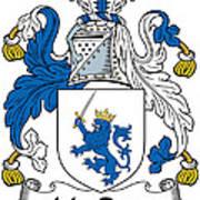 Macrery Coat Of Arms Irish Art Print