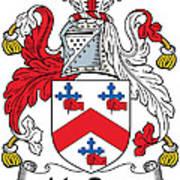 Macrory Coat Of Arms Irish Art Print