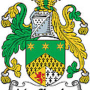 Macshanley Coat Of Arms Irish Art Print