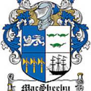 Macsheehy Coat Of Arms Irish Art Print