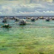 Mactan Island Bay Art Print