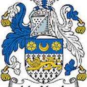 Macveagh Coat Of Arms Irish Art Print