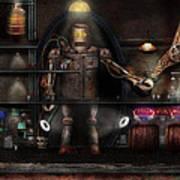 Mad Scientist - The Enforcer Print by Mike Savad