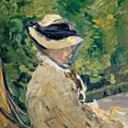 Madame Manet At Bellevue Art Print