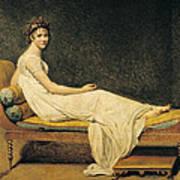 Madame Recamier Art Print