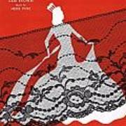 Madame Will Drop Her Shawl Art Print