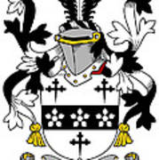 Maddox Coat Of Arms Irish Art Print