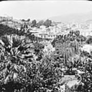 Madeira Public Garden Old Fort 1903 Art Print