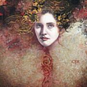 Mademoiselle Du Carnaval Art Print