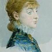 Mademoiselle Lucie Delabigne Art Print