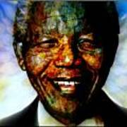 Madiba Father Of Peace And Forgiveness Art Print