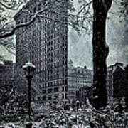 Madison Square And The Flatiron Building Art Print