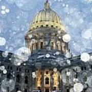 Madisonian Winter Art Print