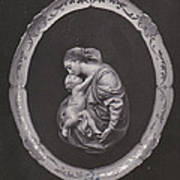 Madonna And Child Print by Allan Koskela