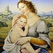 Madonna Of The Fields Art Print