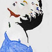 Madonna True Blue Art Print by Stormm Bradshaw