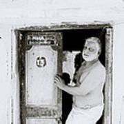 Madras Man Art Print
