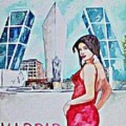 Madrid 2009 Art Print