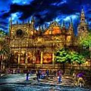 Madrid Gothic Art Print