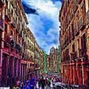 Madrid Life Art Print