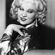 Mae West, Ca. 1935 Art Print