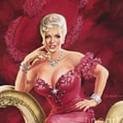 Mae West Art Print