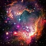Magellanic Cloud 2 Art Print