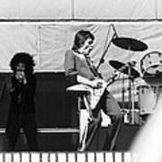 Magic Dick And J. Geils In Oakland 1976 Art Print