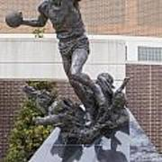 Magic Johnson Statue at Breslin  Art Print