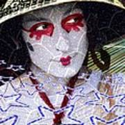 Magic Lady Goddess Art Print