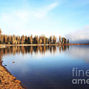 Magic On Seeley Lake Art Print