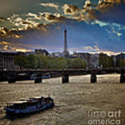 Magic Paris Art Print