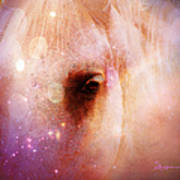 Magical Horse - Featured In 'comfortable Art Group' Art Print