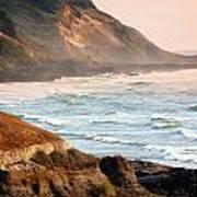 Magnificent Coast  Art Print
