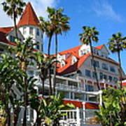 Magnificent Hotel Del Art Print