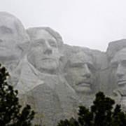 Magnificent Mount Rushmore Art Print