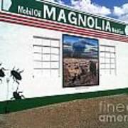 Magnolia Mobil Gas Art Print