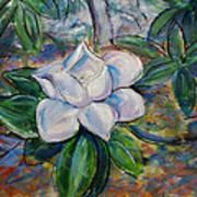 Magnolia's Flower Art Print