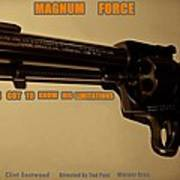 Magnum Force Custom Art Print by Movie Poster Prints