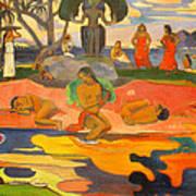 Mahana No Atua Aka. Day Of The Gods Art Print