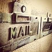 Mail Lost In Time Art Print
