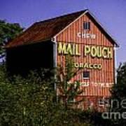 Mail Pouch Barn-0702 Art Print