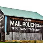 Mail Pouch Tobacco Barn II Art Print
