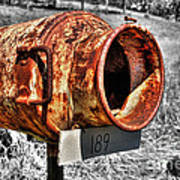 Mailbox With Character Art Print